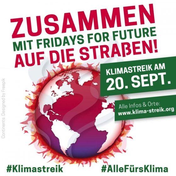 Poster Klimastreik