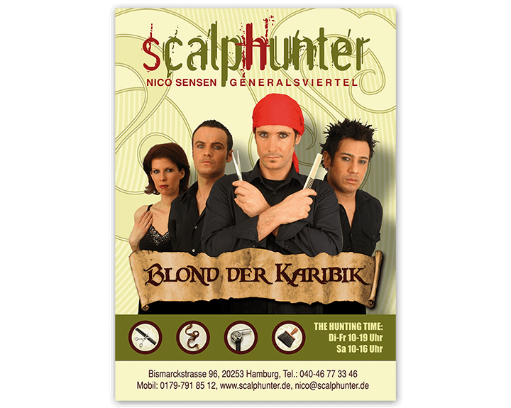Scalphunter - Blond der Karibik