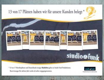 "Anzeige Studio Funk ""Cannes Lions"""