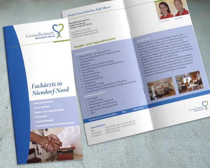 Broschüre Gesundheitsnetz Niendorf-Nord
