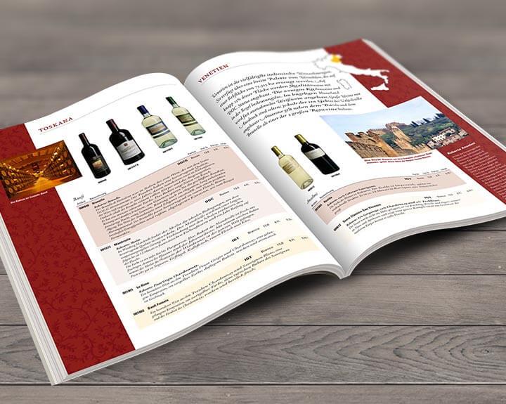 Weinkatalog La Cantina Italiana