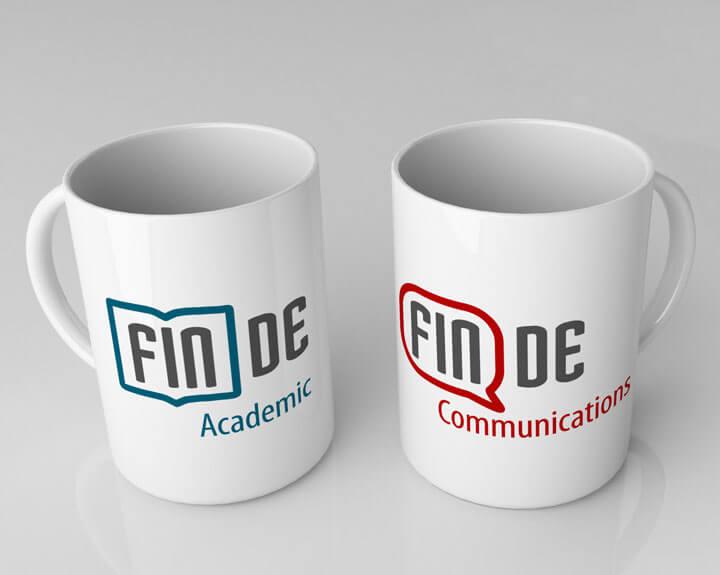 Logos Finde Communications und Finde Academic