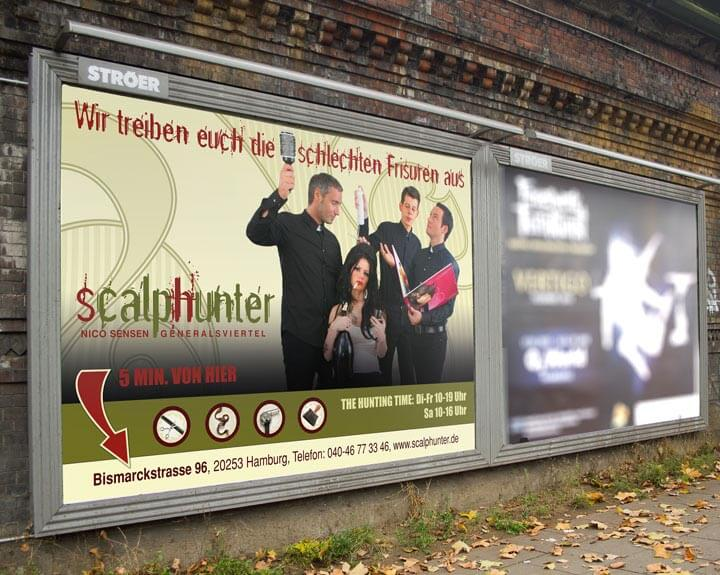 Plakat Scalphunter