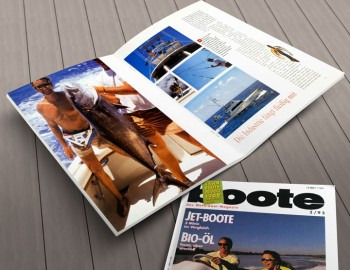 Layout Boote Magazin