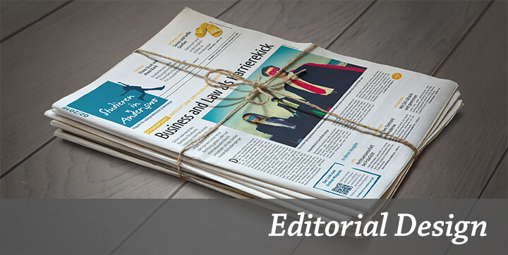 Schwerpunkt Editorial Design