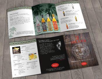 Salesfolder 3 Island Rum