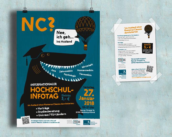 Plakat Hochschulinfotag