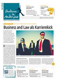 Studieren in Anderswo Ausgabe 2/2016