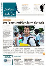 Studieren in Anderswo Ausgabe Winter 2016/2017