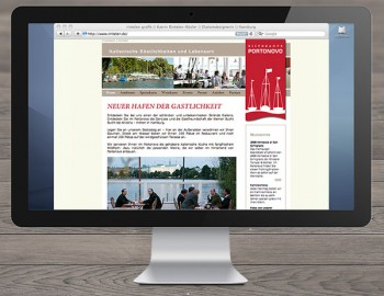 Homepage Portonovo