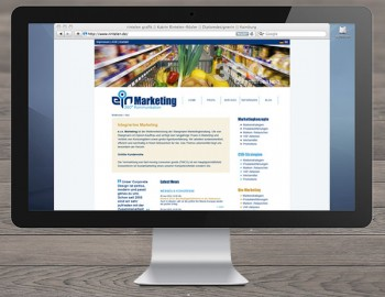 Homepage e.i.n. Marketing