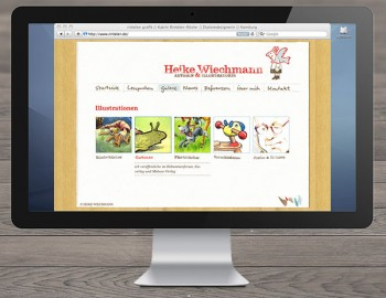 Website Heike Wiechmann