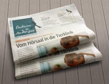 Zeitung Studieren in Anderswo