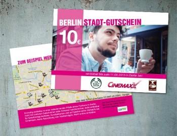 Berlin Stadt-Gutschein der Telekom