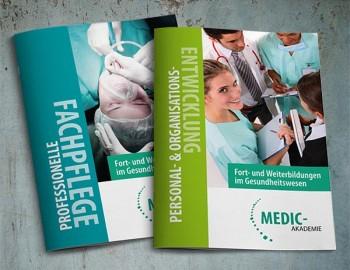 Broschüren Medic Akademie