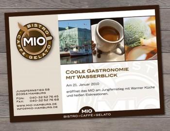 Postkarten-Flyer Mio