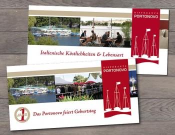 Flyer und Einladung Portonovo