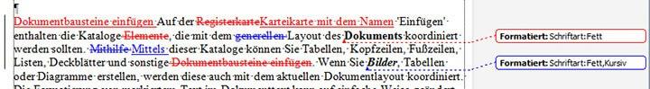Word 2010/2013: Arbeiten mit der Überarbeiten-Funktion