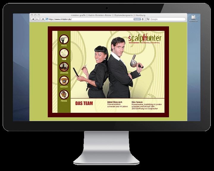 Scalphunter - Website Team