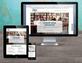 WordPress Responsive Website Finde Academic