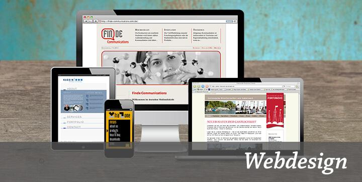 Schwerpunkt Webdesign